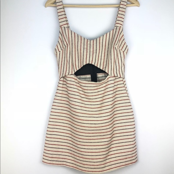 a8d77c8f6559 Zara Trafaluc Jumper Romper Striped Dress. M 5ac6df05a825a6e1db5f03df